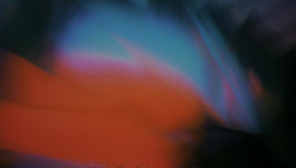 Colors Hot and Cold Abstract Photograph