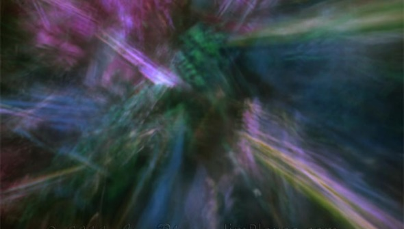 Light Spall Abstract Photograph
