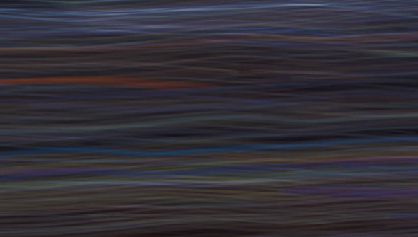 Neon Waves Abstract Photograph