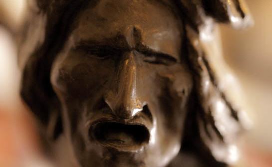 Old Bronze Indian sculpture